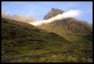 Hory kolem jezera Loch Coruisk