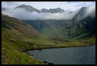 Krajina kolem jezera Loch Coruisk
