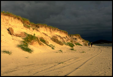Na plazi v Tobha Mor, Jizni Uist